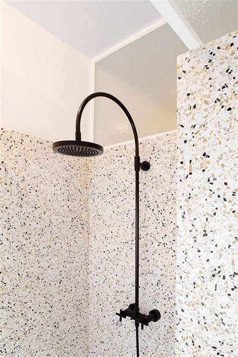 terrazzo bathtub hot trend 36 terrazzo design and decor ideas digsdigs