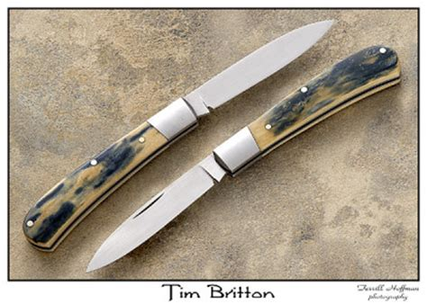 tim britton knives tim britton made knives utility and show knives