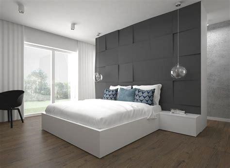 3d wandpaneele schlafzimmer 25 ideen f 252 r attraktive wandgestaltung hinter dem bett