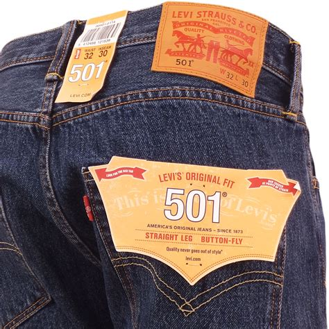 Celana Levis Co Levi Strauss New mens levi s 501 blue denim jean stonewash original mid blue levi strauss pant ebay