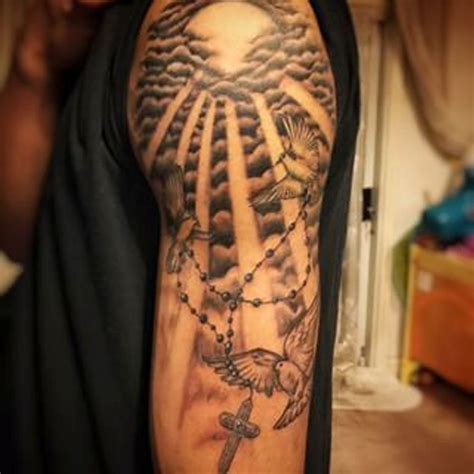 sun shoulder tattoo designs 55 amazing clouds shoulder tattoos