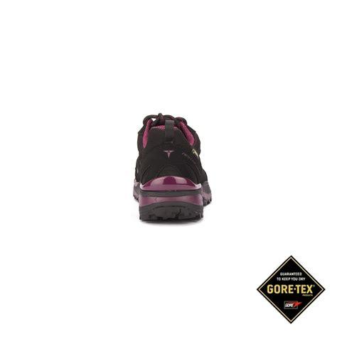Treksta Nevado Boa Low Gtx Black treksta zapatilla nevado lace low gtx purple mujer