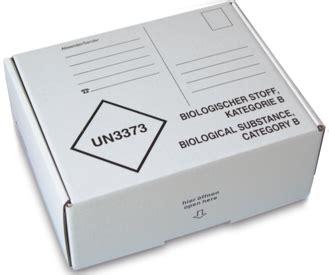 printable un3373 label mailing box kvb 192x146x77mm sarstedt