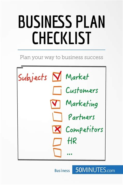 business plan checklist template planet the epicenter of everything