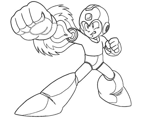 mega man character coloring pages coloring pages