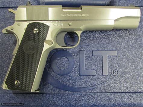 1991 colt government 45acp stainless colt 1991 series stainless government 1911 45 acp 01091