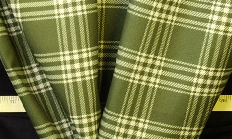 tartan upholstery fabric sale 10 yards sale fabric 54 quot olive green plaid home decor