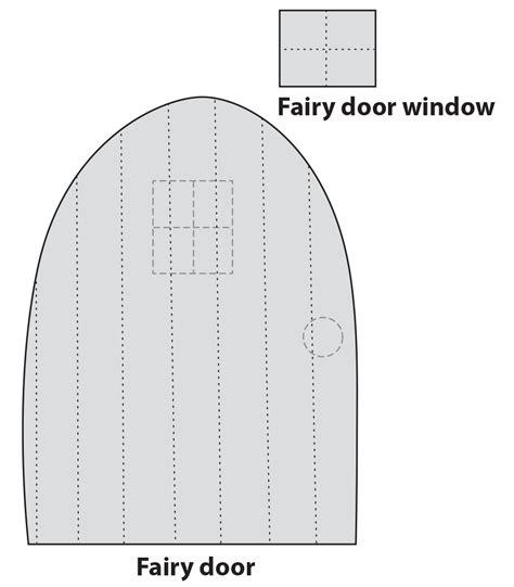 door pattern crafts for kids foam fairy door craftfoxes