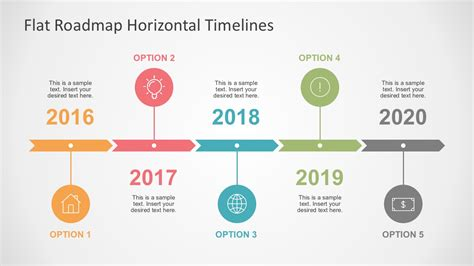 graphic design timeline template luxury professional looking
