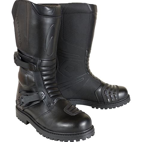 adventure motorcycle boots richa adventure waterproof boot black free uk delivery