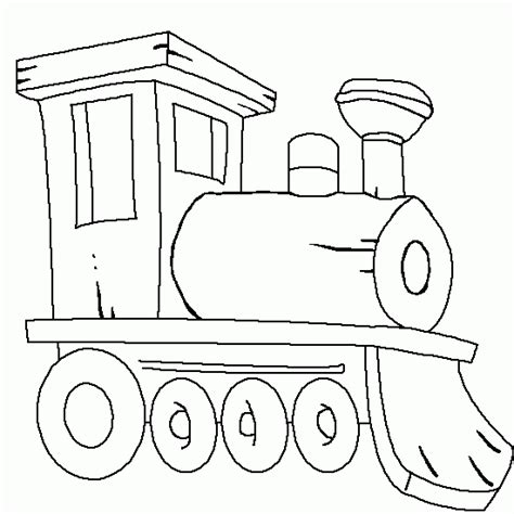 imagenes infantiles para colorear de trenes locomotora de vapor del tren para colorear dibujos de