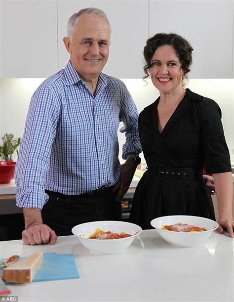 Kitchen Cabinet Malcolm Turnbull malcolm turnbull prepares gourmet ravioli for annabel
