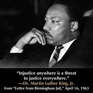 Injustice Anywhere Is A Threat To Justice Everywhere Essay by Random Thoughts Trevordrinen Martin Luther King Jr 9