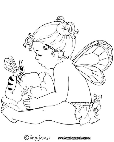 baby angel coloring page adult fairy coloring pages babies fairies coloring 16