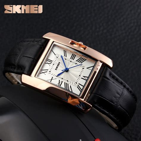 Skmei 1085 Fashion Leather Jam Tangan Wanita skmei jam tangan fashion wanita 1085cl black jakartanotebook