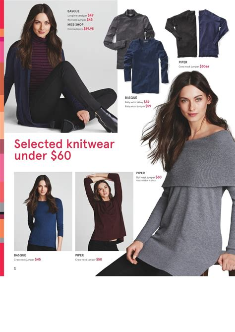 myer catalogue deals clothing