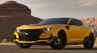 transformers new cars michael bay reveals 2017 bumblebee camaro for transformers