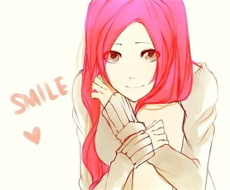 anime girl with red hair tumblr anime quot don t be fooled on the outside i m smiling