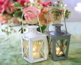 Luminous mini lanterns tea light candle holder wedding or party favors
