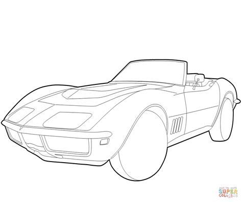 coloring pages corvette cars corvette coloring page coloring home