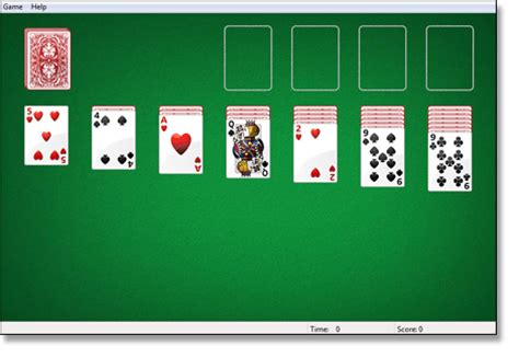 the rules of solitaire how to score and play klondike and tips