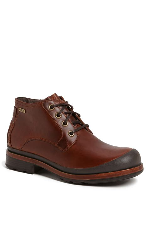 ugg clancy waterproof boot in brown for chestnut lyst