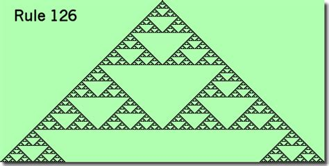 triangle pattern rule fractal food