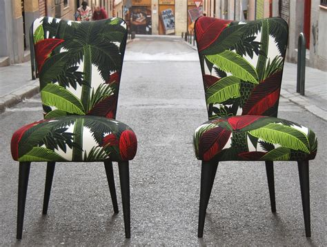 telas para tapizar sillas de comedor la tapicera sillas tapizadas con tela tropical