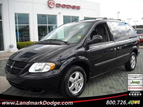 black dodge caravan 2007 brilliant black dodge caravan sxt 11892337