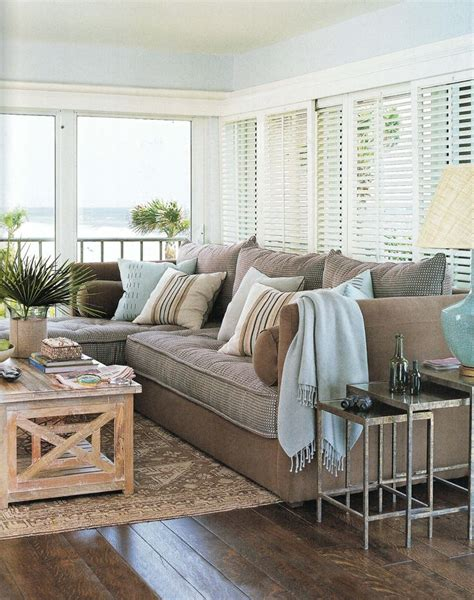 coastal sectional sofa beach cottage room for the home pinterest