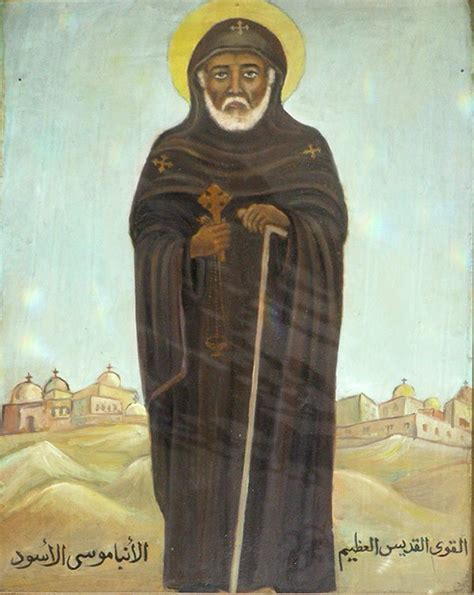 St Mosse moses the black