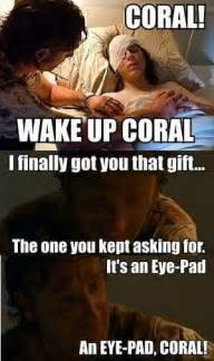 Eye Pad Meme - the walking dead carl all the memes you need to see