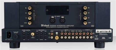 mcintosh ma integrated amplifier review avrevcom