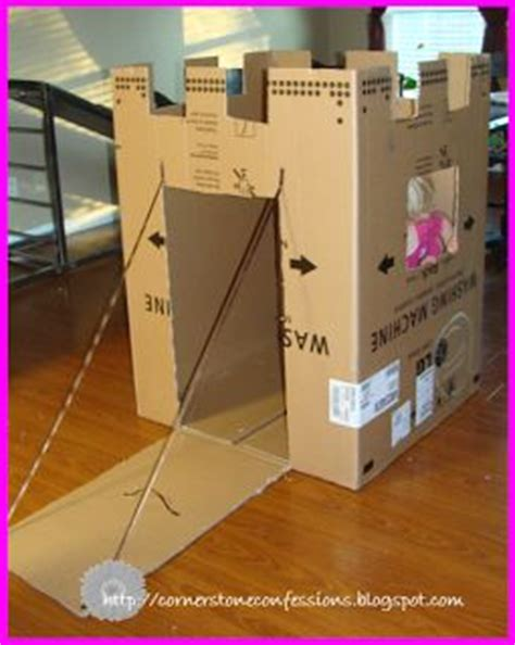 How To Make A Paper Fort - 25 best ideas about cardboard box crafts on