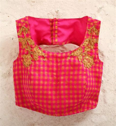 Simple Bordir Blouse wear blouse designs trending designer