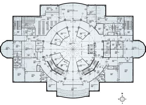 building plans floor plans open the doors completing union s new library for a new generation