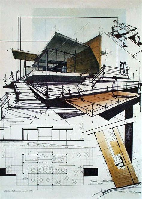 architectural drawing views 587 best images about design sketches on