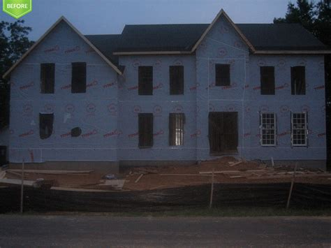 custom home building photos of custom home in virginia