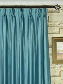 Extra Wide Pinch Pleat Drapes Extra Wide Swan Gray And Blue Solid Double Pinch Pleat