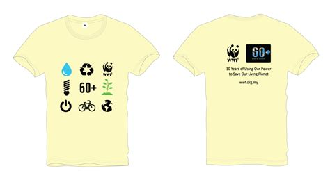 Tshirt Kaos Wwf 2 Carbonara runnerific earth hour walk 2018