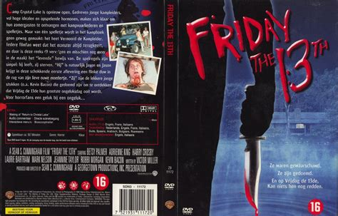 Friday The 13th The 2dvd Covers Box Sk Friday The 13th Part 1 High Quality