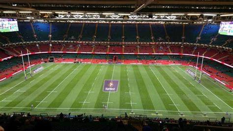 principality stadium section  row  home  welsh
