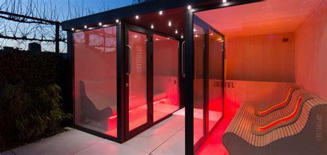 Saunahaus Mit Dusche by Luxus Outdoor Sauna F 252 R Den Garten