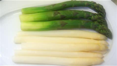 kochvideo weissen und gruenen spargel richtig kochen youtube