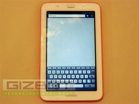 Galaxy Tab 3 Neo samsung galaxy tab 3 neo on and look a stylish tab which lacks a front gizbot