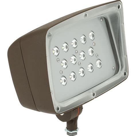 Outdoor Commercial Flood Lights Hton Bay Low Voltage Integrated Led 75w Halogen