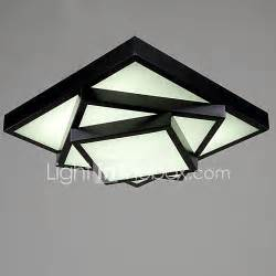 ecolight square flush mount led modern contemporary