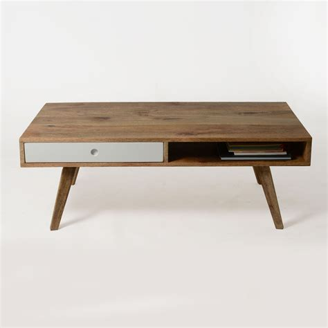 Table Basse Bois Massif Scandinave   Made In Meubles