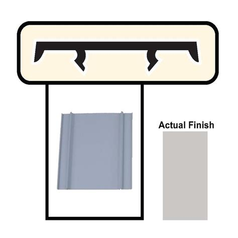 shop screen tight gray porch screening system cap at lowes com