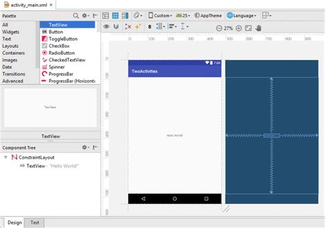 android studio r layout activity main android activity project